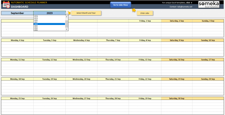 Automatic-Schedule-Planner-Excel-Template-Someka-SS3