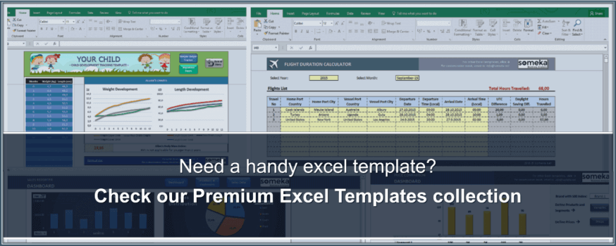 Someka Excel Solutions - Excel Templates Collection
