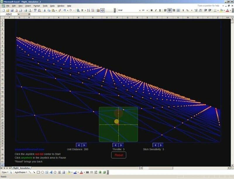19 Flight Simulator Excel Games - Someka Blog