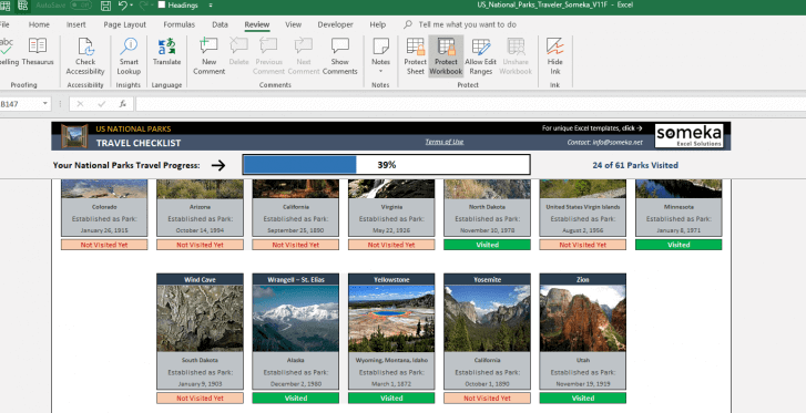 US-National-Park-Excel Template-SS2-1