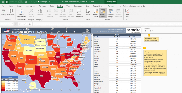 USA-Geographic-Heat-Map-Generator-Excel-Template-Someka-SS11