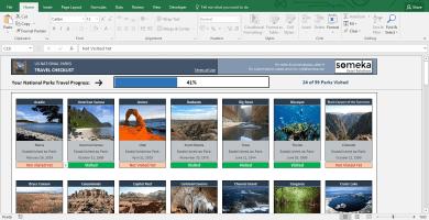 Printable List Of US National Parks