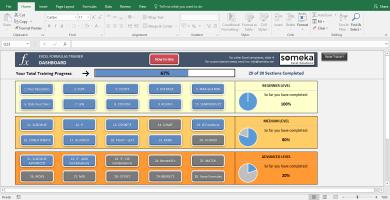 Excel Formulas Full Trainer – Excel Template