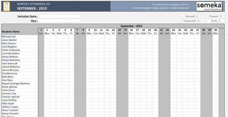 Monthly-Attendance-List-Excel-Template-2018-SS3