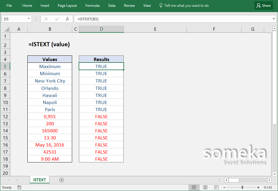 how-to-use-excel-ISTEXT-function