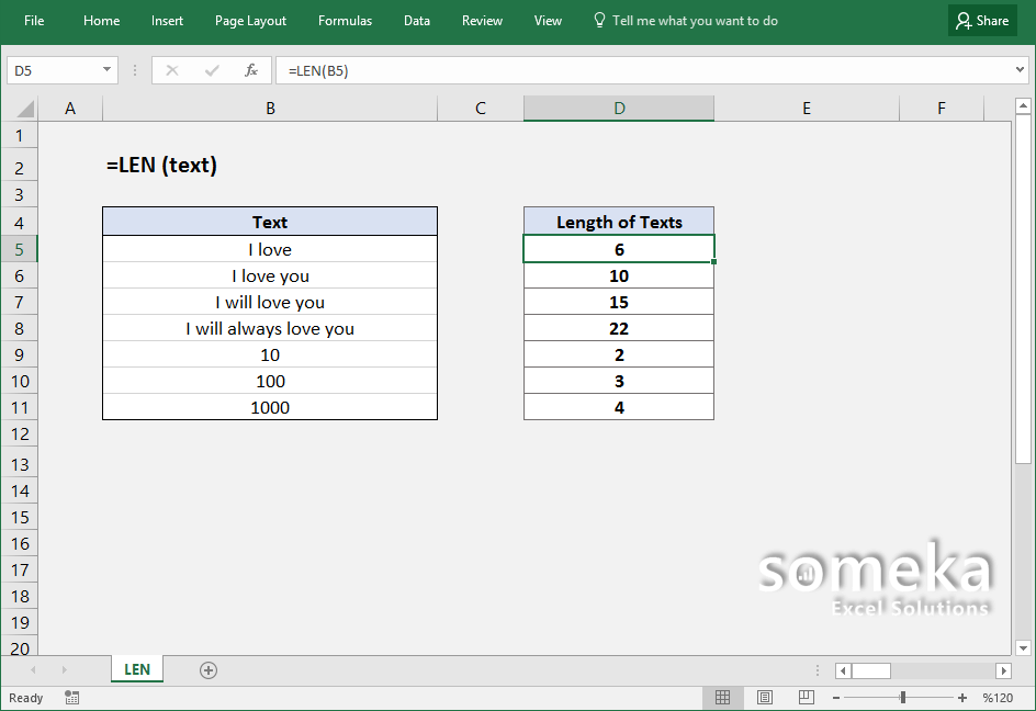 how-to-use-excel-LEN-function