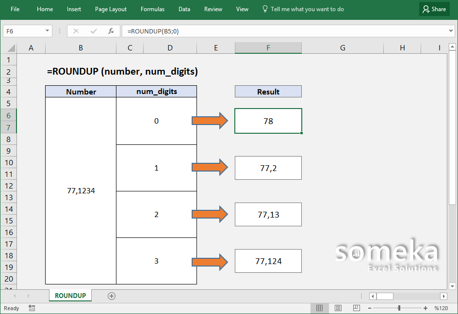 how-to-use-excel-ROUNDUP-function