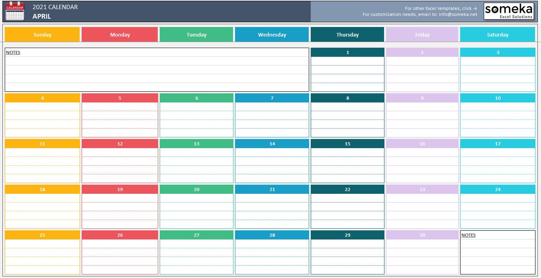 Excel Calendar Template 2020 from mk0somekaijynom3omen.kinstacdn.com