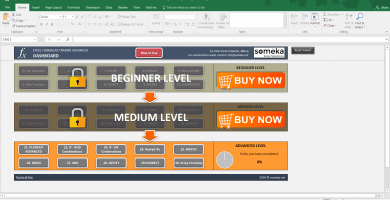 Excel Formulas Training Kit – Advanced Level