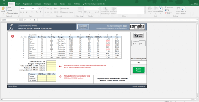 Excel Formulas Trainer Advanced 2