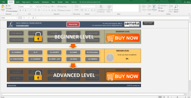 Excel Formulas Training Kit – Medium Level