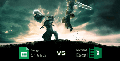 Google Sheets Vs. Excel - Comparison Table - Someka Blog