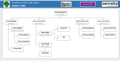 Automatic Family Tree Maker