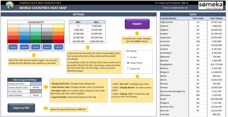 World-Heat-Map-Excel-Template-Someka-SS02