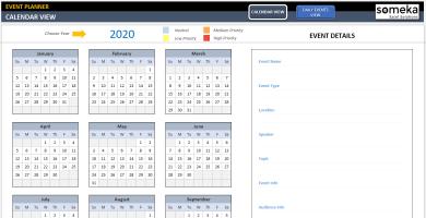 Dynamic Event Calendar