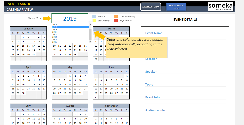 event calendar template excel   datariouruguay