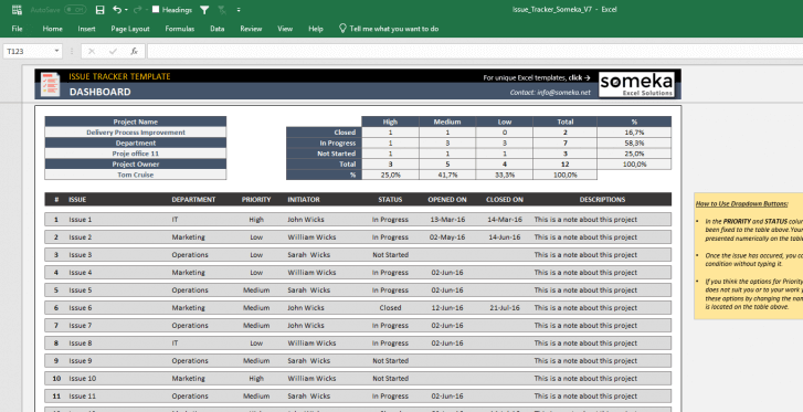 Issue-Tracker-Excel-Template-Someka-SS6