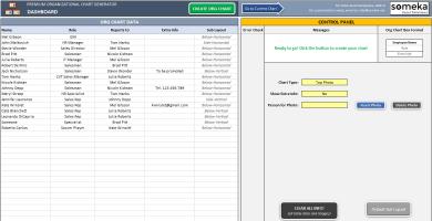 Premium Org Chart Generator SS2