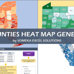 US Counties Heat Map Generator - Excel Template - Someka SSCover