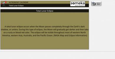 Astronomy Calendar Excel Template – Someka SS2