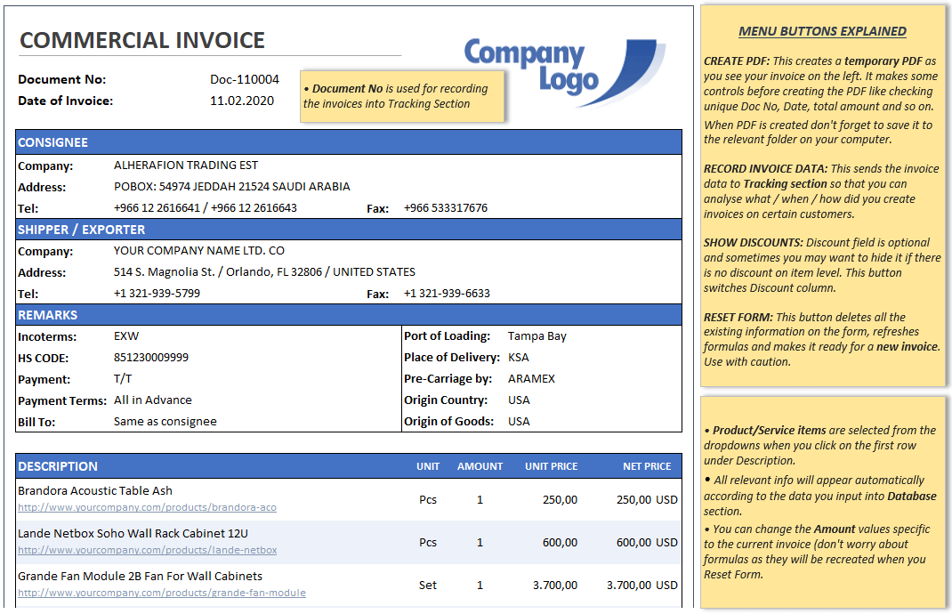 Commercial-Invoice-Generator-Excel-Template-SCopy-S01