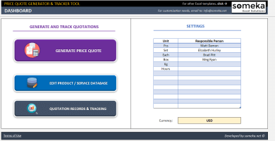 Price Quote Generator & Tracker