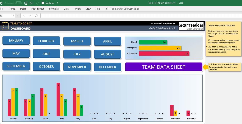 team to do list template