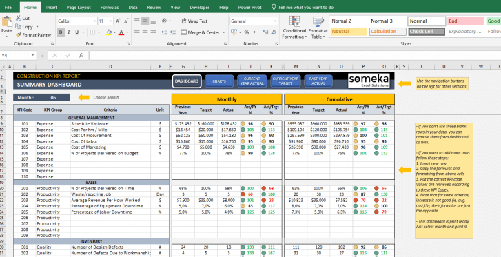 Construction-KPI-Dashboard-Excel-Template-Someka-SS12