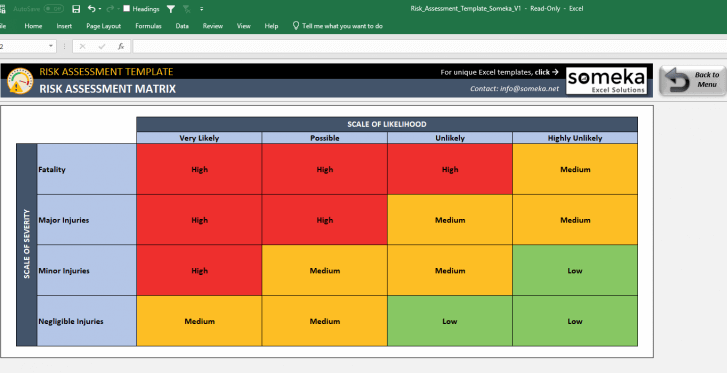 Risk-Assessment-Template-Someka-SS9
