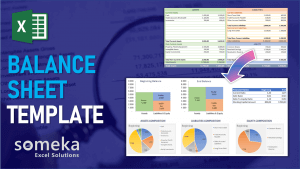 Balance Sheet Template - Someka Excel Template Video