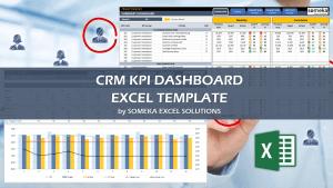 CRM KPI Dashboard - Someka Excel Template Video