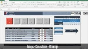 EURO 2016 Excel Template - Someka Excel Template Video