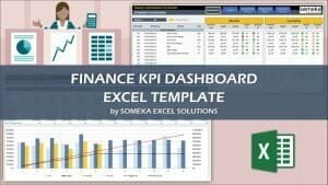 Excel Finance KPI Dashboard Template Video