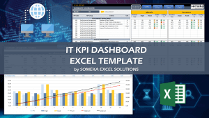 IT KPI Dashboard - Someka Excel Template Video