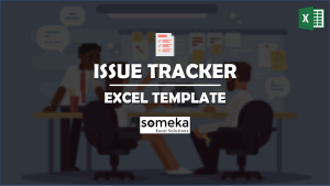 Issue Tracker - Someka Excel Template Video