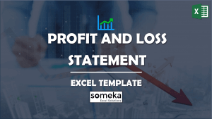 Profit and Loss Statement - Someka Excel Template Video
