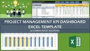 Excel Project Management KPI Dashboard Template Video