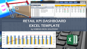 Retail KPI Dashboard - Someka Excel Template Video