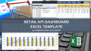 Retail KPI Dashboard - Someka Excel Template Video