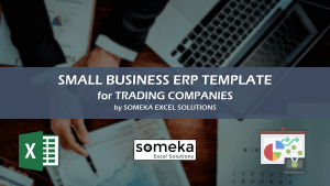 Small Business ERP - Someka Excel Template Video