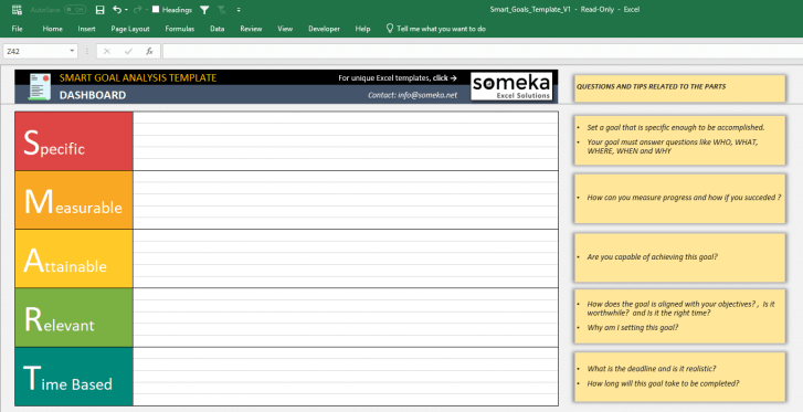 Smart-Goals-Analysis-Template-Someka-SS4