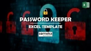 Password Keeper - Someka Excel Template Video