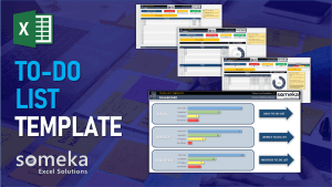 To Do List Template - Someka Excel Template Video