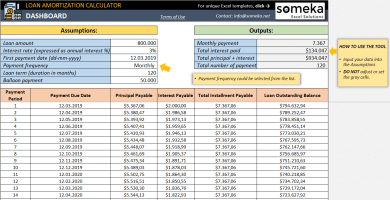 Loan Amortization Calculator