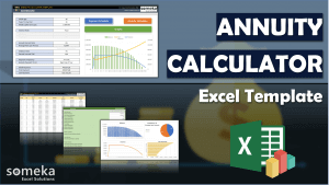 Annuity Calculator - Someka Excel Template Video