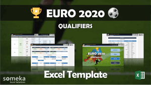 Euro 2020 Excel Template - Someka Excel Template Video