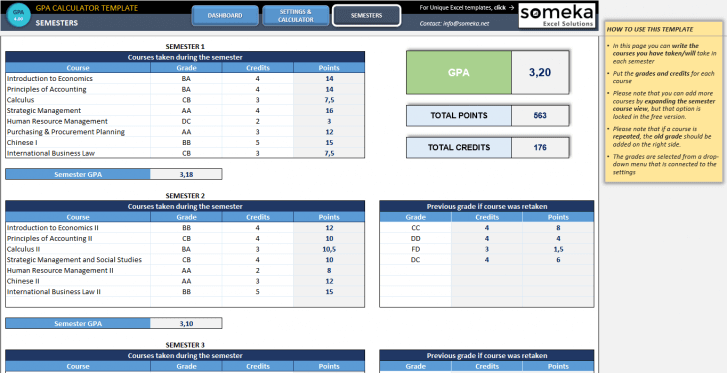 GPA-Calculator-Excel-Template-Someka-SS3