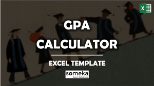 GPA Calculator - Someka Excel Template Video