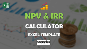NPV & IRR Calculator - Someka Excel Template Video