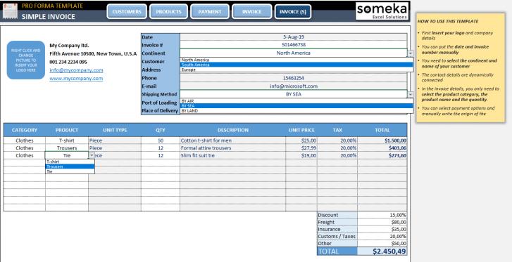 Proforma-Invoice-Template-Someka-SS3